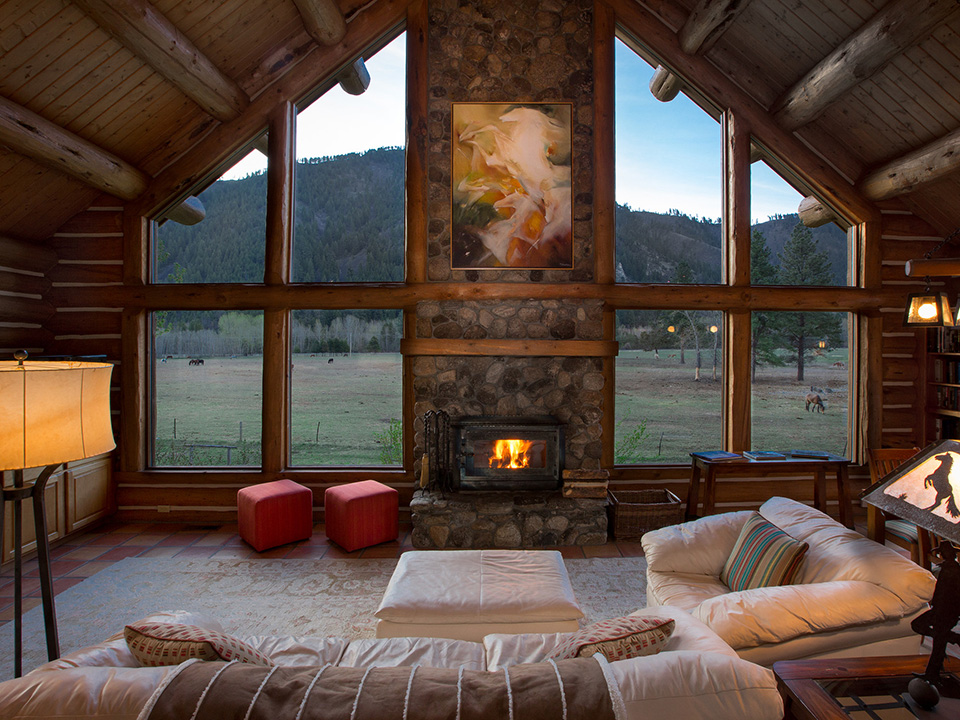Luxury Ranch Vacation Home in Montana